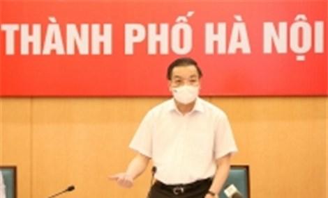 Hà Nội: Công điện về thực hiện các biện pháp cấp bách phòng chống dịch COVID-19