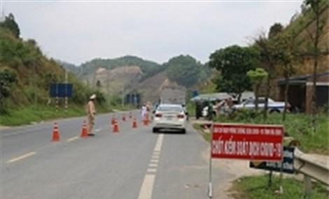 Huyện Kim Bôi thiết lập 17 điểm cách ly tập trung và 7 chốt kiểm dịch