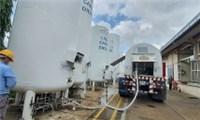 lượng oxy lớn được cung ứng cho TPHCM