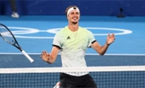 """Zverev: Đặt chân vào """"ngôi đền"""" huyền thoại của thể thao mước Đức với tấm HCV Olympic"""