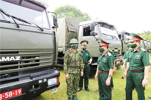 Kiểm tra sẵn sàng chiến đấu tại các đơn vị Quân khu II