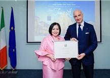 Vietnamese fashion designer appointed Italian culinary ambassador