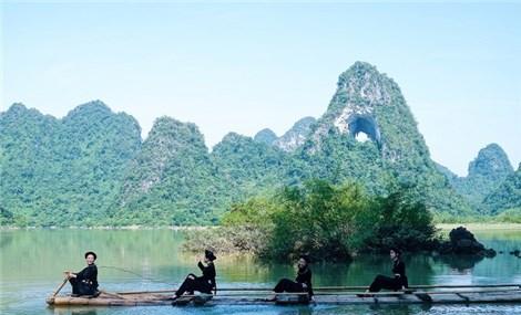 """越南高平省""""独一无二""""的神眼山"""