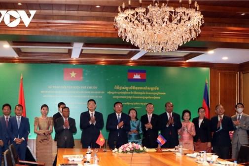 Thông tin về phân giới cắm mốc biên giới trên đất liền Việt Nam-Campuchia