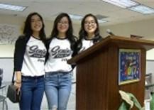 Nước Mỹ kinh ngạc thấy chị em sinh 3 gốc Việt học giỏi