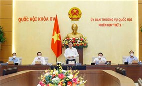Khai mạc phiên họp thứ hai Ủy ban Thường vụ Quốc hội