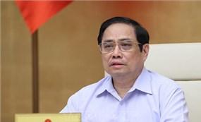 Thủ tướng chủ trì Phiên họp Chính phủ chuyên đề về pháp luật