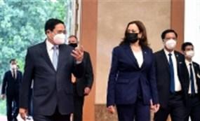 Thủ tướng Phạm Minh Chính tiếp Phó Tổng thống Mỹ Harris : Mỹ ủng hộ một Việt Nam độc lập, thịnh vượng