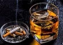 Mắc COVID-19 thì không nên hút thuốc và uống rượu, bia