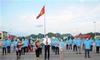 Đoàn cán bộ Y tế  tỉnh Sơn La tham gia hỗ trợ chống dịch tại tp Hồ Chí Minh