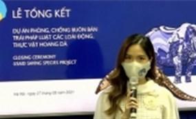 Hoa Kỳ tài trợ giúp Việt Nam tăng cường bảo vệ các loài hoang dã