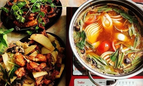 Frog Hotpot – a favourite dish of Hanoians