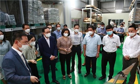 Samsung Vietnam helps local firms join global supply chain