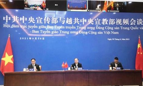 Phát triển quan hệ hợp tác hữu nghị Việt Nam-Trung Quốc