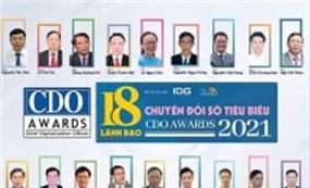 Vinh danh 18 lãnh đạo chuyển đổi số Việt Nam tiêu biểu năm 2021
