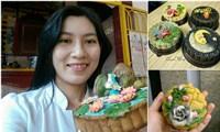 Biến bánh Trung thu thành tác phẩm nghệ thuật
