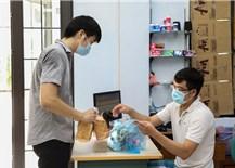 Hỗ trợ sinh viên mắc kẹt tại tâm dịch TP. Hồ Chí Minh
