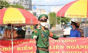 TP Hồ Chí Minh đã phát hiện được 135 F0 qua các chốt kiểm soát với  ứng dụng VNEID