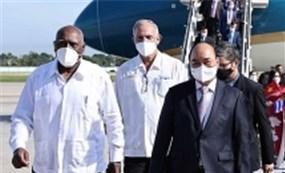 Chủ tịch nước Nguyễn Xuân Phúc bắt đầu chuyến công du tại Cuba