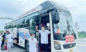 Đoàn cán bộ y tế Phú Thọ hoàn thành nhiệm vụ hỗ trợ Hà Nội