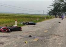 Đi chơi Trung thu, nhóm thanh niên đi xe máy tốc độ cao gây tai nạn khiến 5 người chết, 2 người bị thương