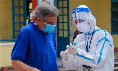 Foreigners in Da Nang vaccinated against COVID-19