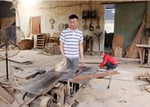 Làng nghề gỗ gặp khó do ảnh hưởng từ dịch Covid-19