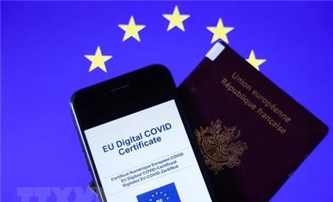 Chứng chỉ xanh COVID trong cuộc sống hàng ngày ở Châu Âu