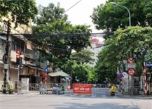 Thêm 5 ca nhiễm ngoài cộng đồng, Hà Nội phong tỏa nhiều nơi