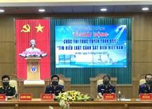 全国《了解越南海警法》在线竞赛奖项获得者增多