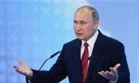"""Tổng thống Nga Putin phát một câu nói giá khí đốt thế giới giảm""""ngay lập tức"""""""