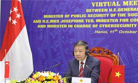 Vietnam, Singapore step up co-operation in cybercrime combat