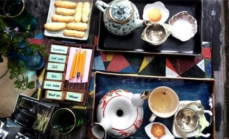 Quán trà 'im lặng' giữa phố cổ Hội An