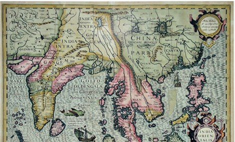 Bản đồ do Phương Tây xuất bản