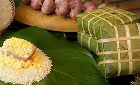 Bánh chưng và đặc sản Việt xuất ngoại đón Tết