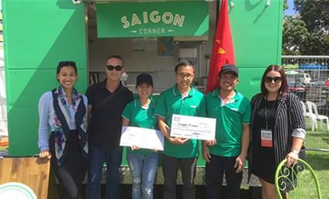 Xe tải Việt bán phở bò giành giải nhất ẩm thực ở New Zealand