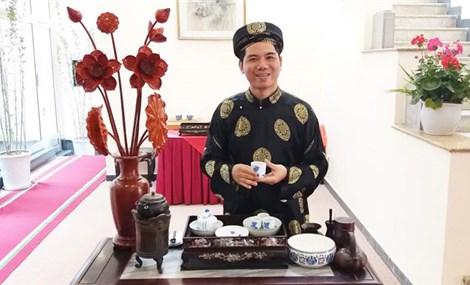 Artisan Hoang Anh Suong 'Vietnamese Tea is a great art'