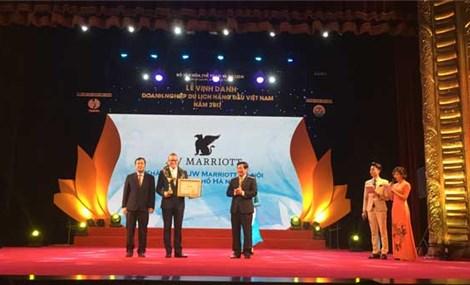 JW Marriott Hanoi ranks Vietnam Top Ten 5 Star Hotels
