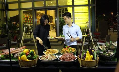 Vietnamese women's day sweet treat at Grand Mercure Danang