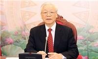 Tổng Bí thư, Chủ tịch nước Nguyễn Phú Trọng điện đàm với TBT, Chủ tịch Trung Quốc Tập Cận Bình