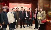 Hà Nội gặp mặt văn nghệ sỹ, trí thức và chức sắc tôn giáo