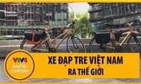 Xe đạp tre Việt Nam ra thế giới