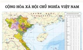 Administrative Map of Vietnam