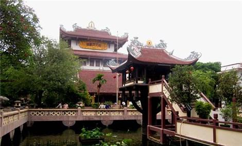 One Pillar Pagoda in Saigon