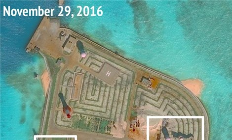 Images show 'significant' Chinese weapons systems in South China Sea