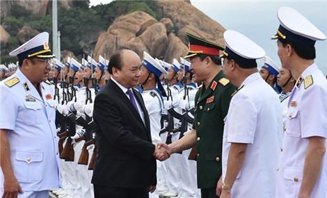 Flag-hoisting ceremony for Vietnam's two new Kilo-class submarines
