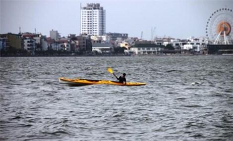 Kayaking on Hanoi's West Lake