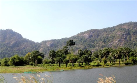 Scenic lakes in An Giang