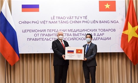 Việt Nam gifts 150,000 face masks to Russia