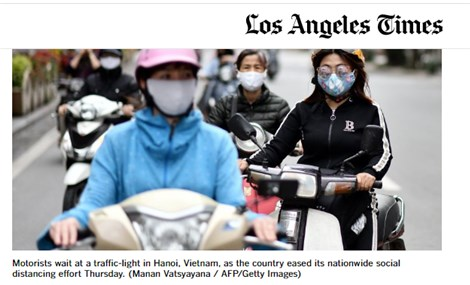 US media highlights Vietnamese success in fighting COVID-19 pandemic